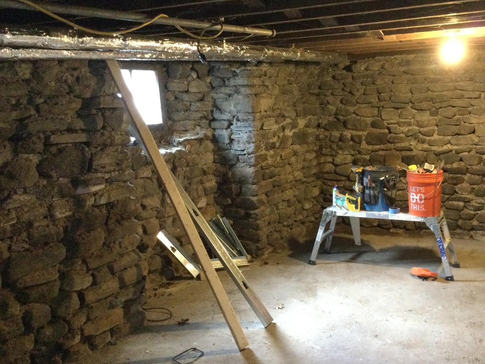 Making A Basement A Happy Place For Foster Dogs In Newfane, NY - Before Photo
