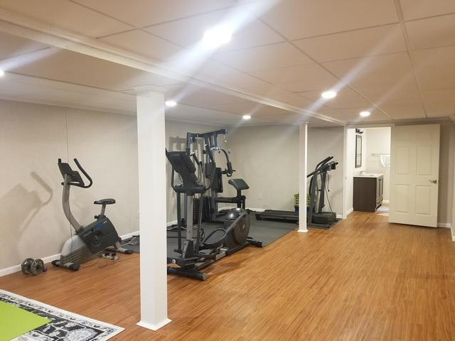 A Total Transformation in East Amherst, NY Basement