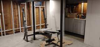A New Home Gym in Hamburg, NY - Before Photo