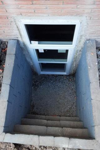 Installing Egress Windows In Buffalo, NY - After Photo