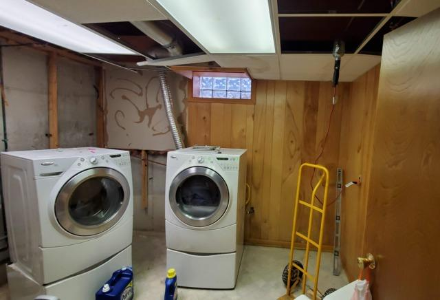 Updated Laundry Area In Lancaster, NY