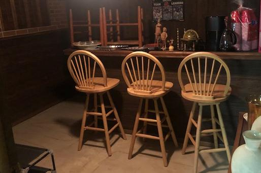 Creating A Basement Bar Worthy of Downtown - Before Photo