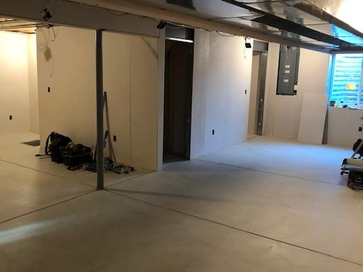 Refinishing A Basement In Lancaster, NY