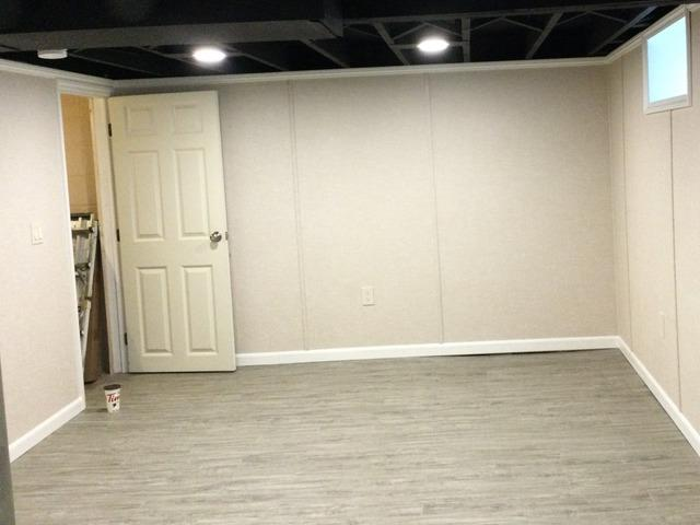 New Basement Living Area In Rochester, NY