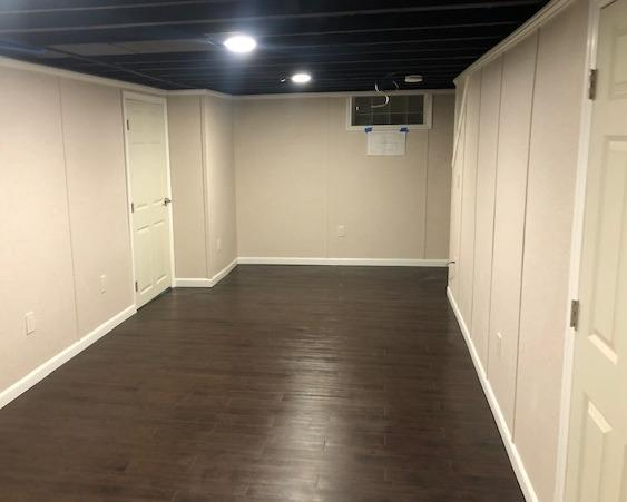 Finishing Half Of A Basement In Depew, NY - After Photo