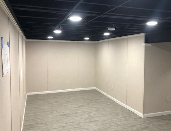 Customizing A Basement In Clarence Center, NY