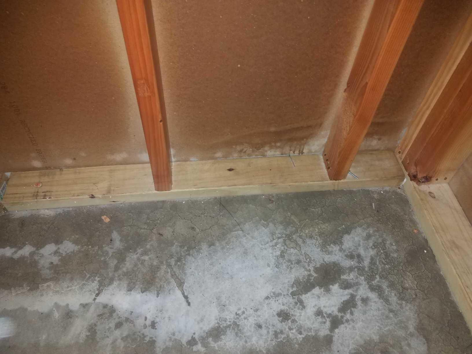 Groundwater Seeps Into Basement and Causes Mold in Toms River, NJ - After Photo