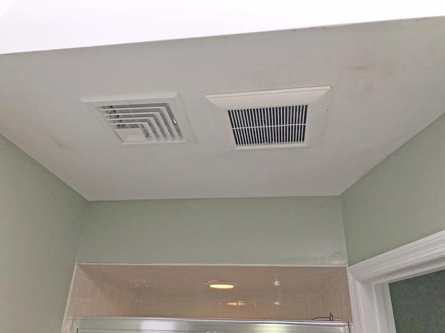 Improperly Ventilated Bathroom Leads to Mold in Freehold, NJ - After Photo