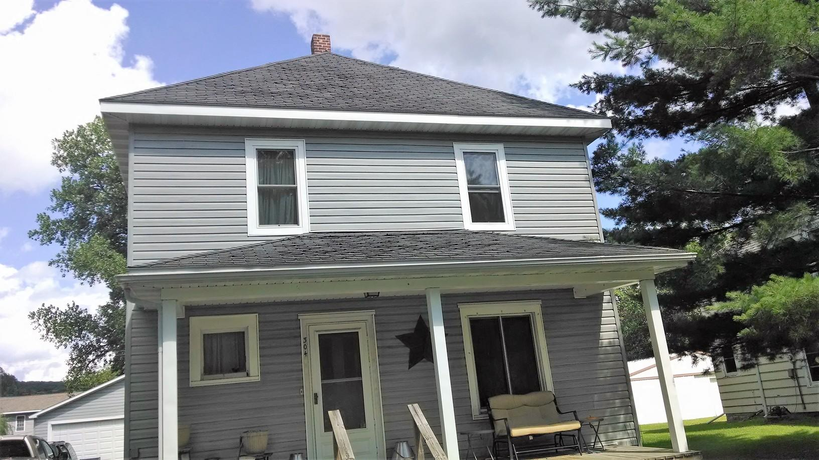 Rushford, MN Hail Damage Repair - Before Photo