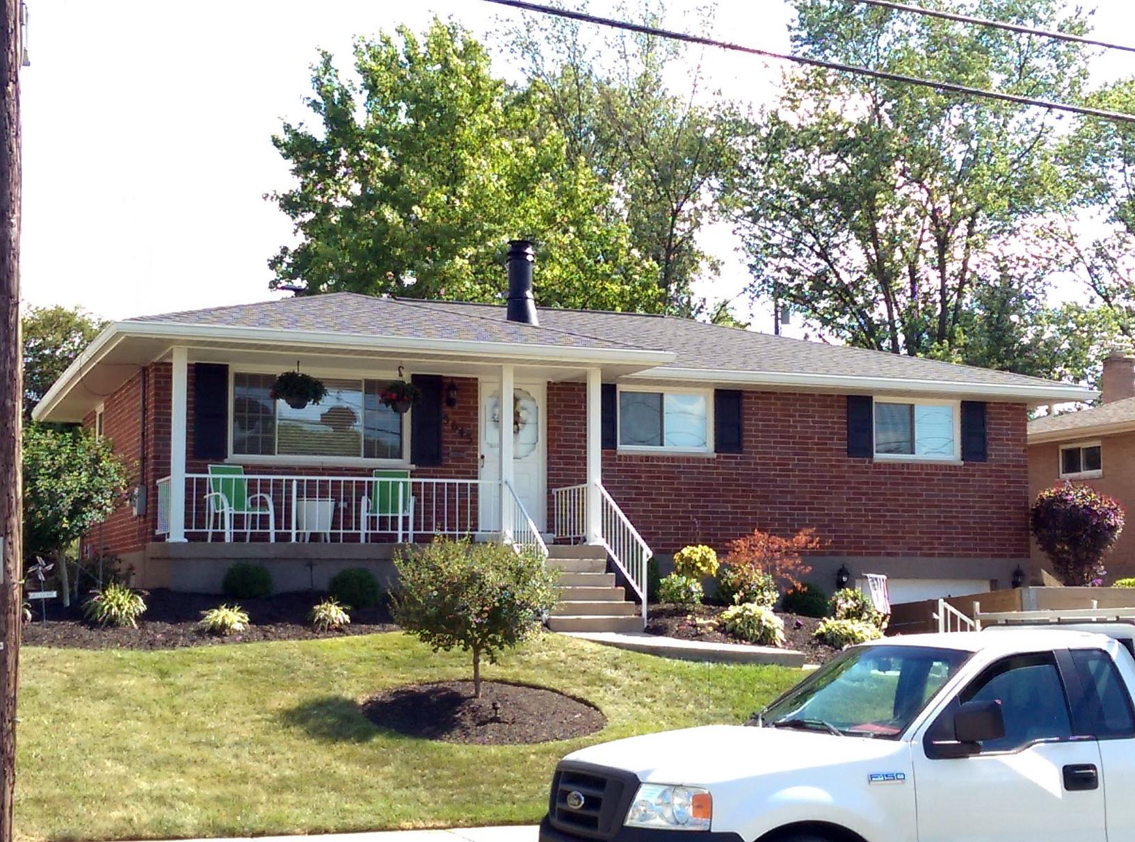 Roof Replacement and Gutter Installation in Cincinnati - After Photo