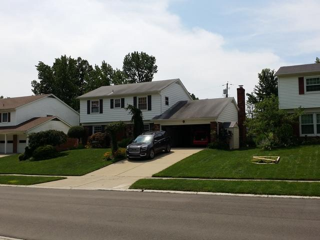 New Shingle Roof in Cincinnati, OH - Before Photo