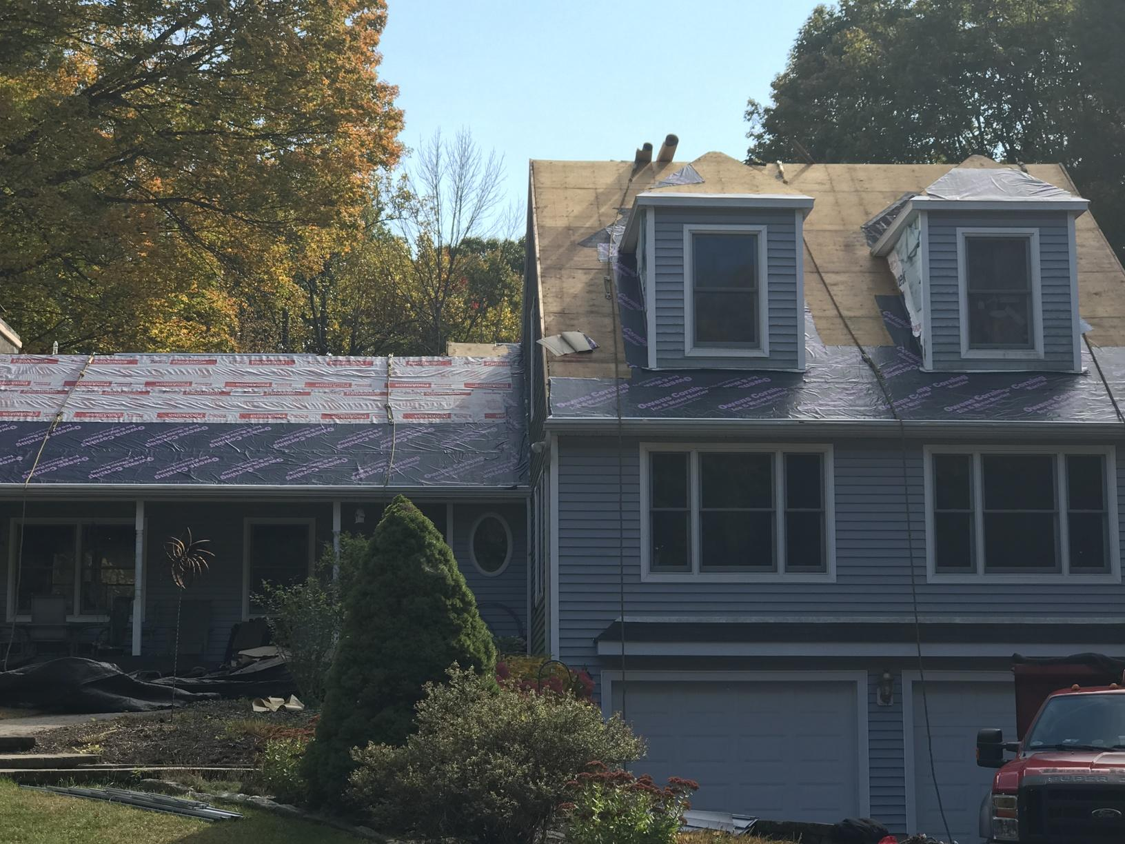 Brown Roofing Company Inc Before Amp After Photo Set New