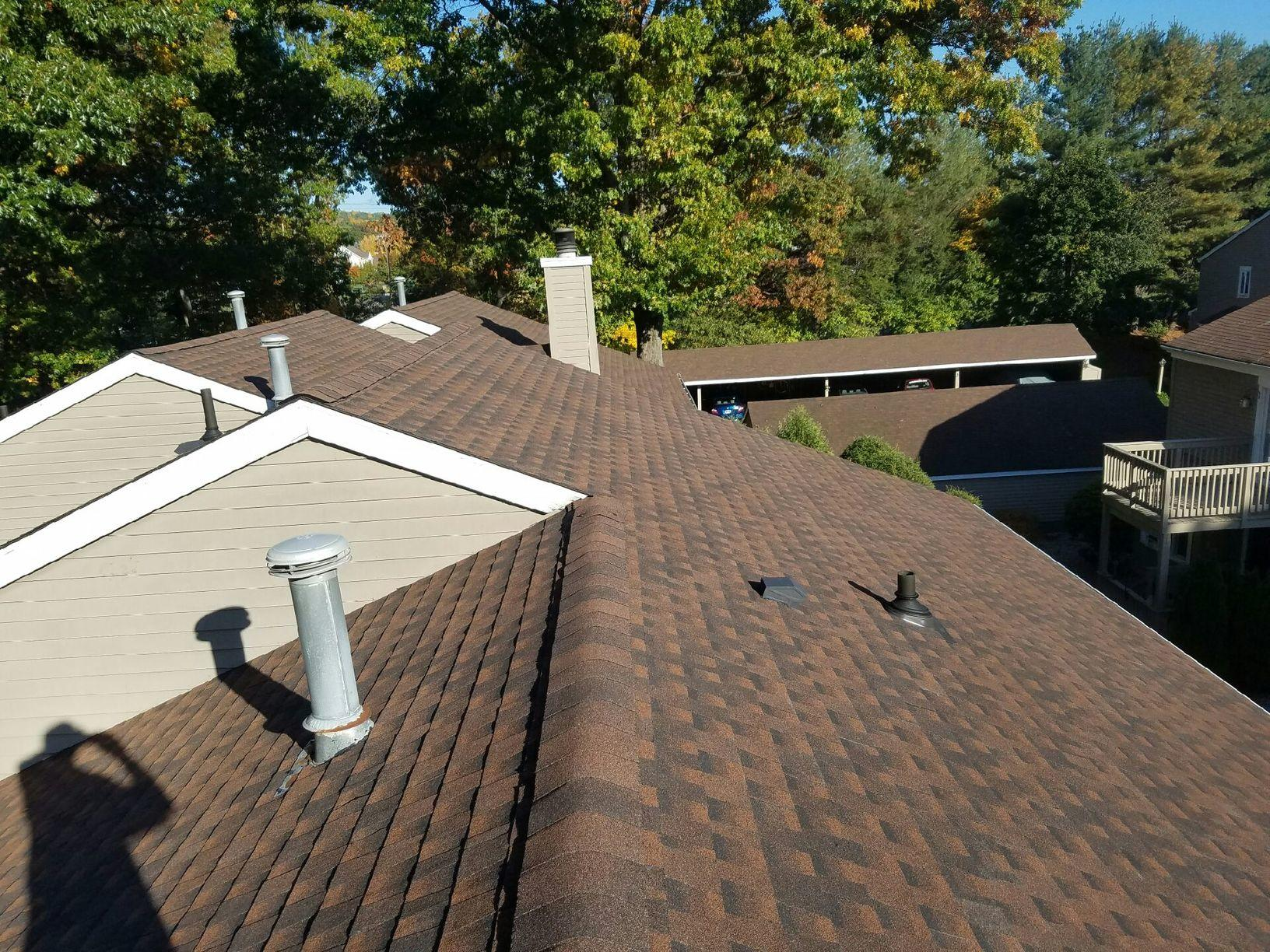 Brown Roofing Company Inc Commercial Roofing Before