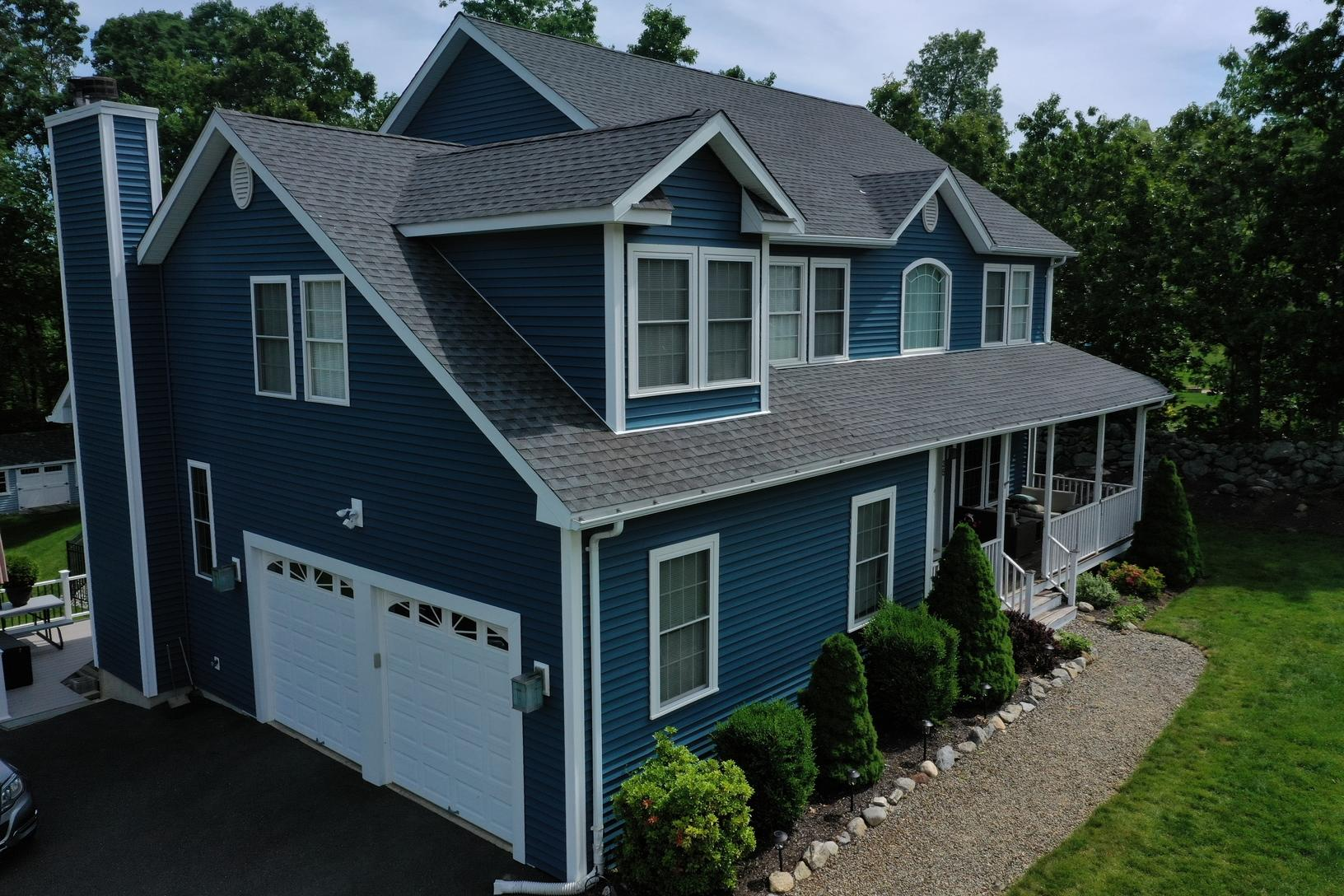 Siding Replacement in Beacon Falls, CT - After Photo