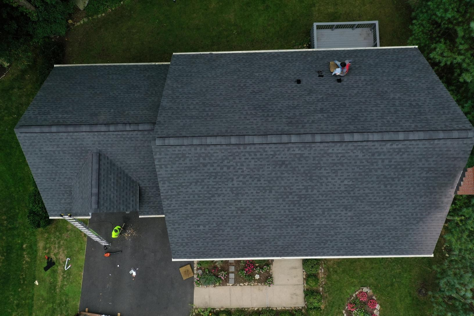 Complete Rip and Roof Replacement in Shelton, CT - After Photo