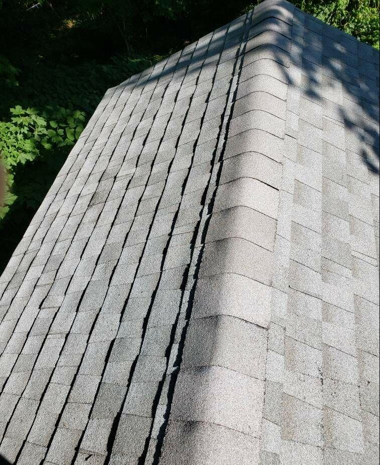 Roof Cleaning in Derby, CT - After Photo
