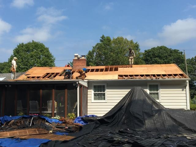 New roof in Bridgeport, CT