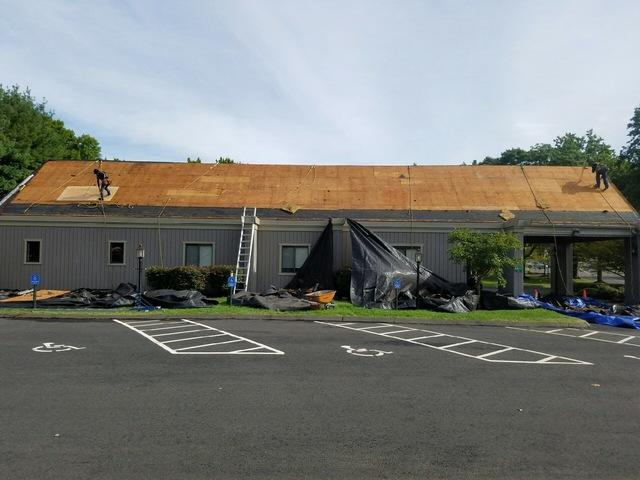 Commercial Roof Replacement in Bridgeport, CT