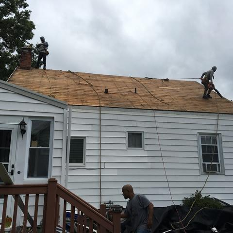 Roof repair in Stamford, CT