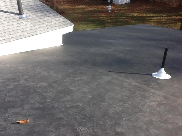 Rubber Roof Replacement in Shelton, CT
