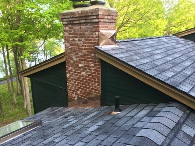 New roof in Greenwich, CT - After Photo