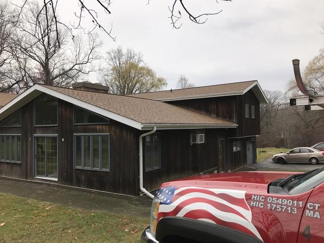 New GAF life time roofing system Westport, CT