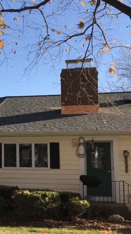 New Copper Chimney Flashings Bethany