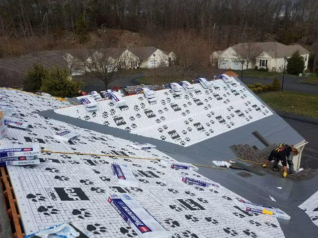 New GAF Roofing Installation in Woodbury, CT