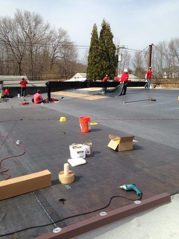 Flat Roof Replacement in Waterbury, CT