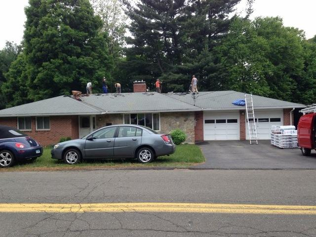 Roof Replacement on Single-Floor Home in Redding, CT