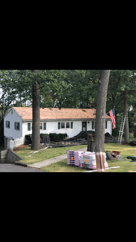 Shingle Roof Replacement in Watertown, CT