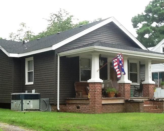 Siding and Trim on Henrico - After Photo