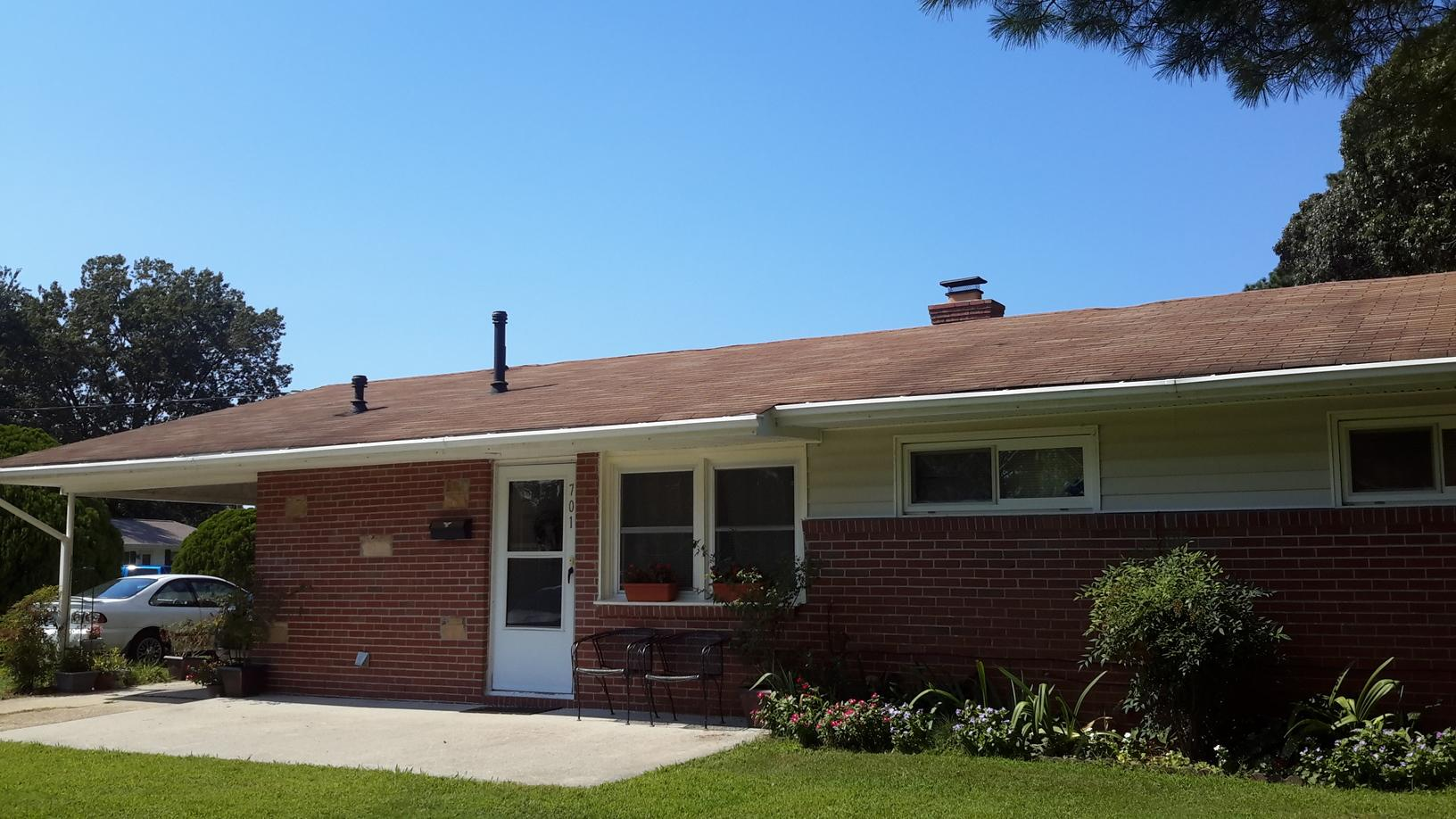 Replaced Roofing - Before Photo