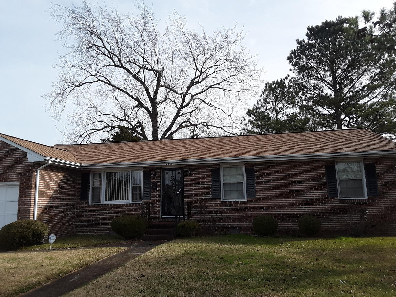 Roof Replacement in Norfolk - After Photo
