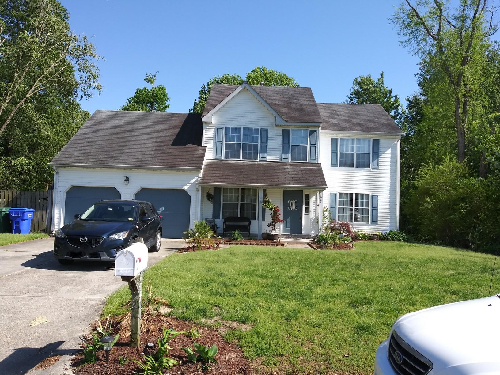 Roof Replacement in Suffolk, CT - Before Photo