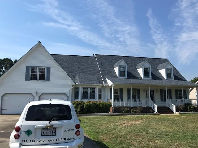 Roof Replacement in Moyock