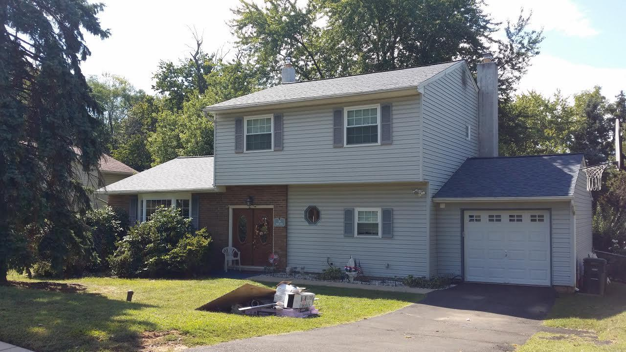 Roof Replacement in Feasterville PA - After Photo