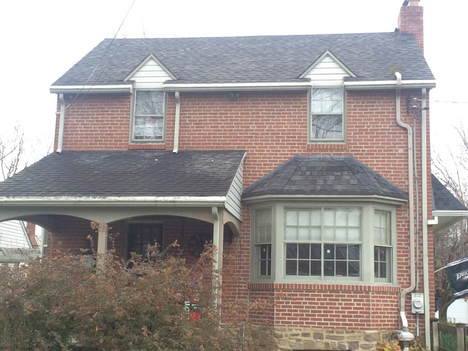 Roof Replacement in Flourtown, PA - Before Photo