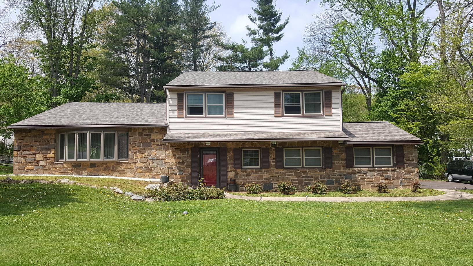 Roof Replacement in Huntingdon Valley, PA - After Photo