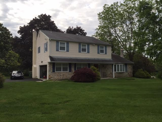 Full Roof Replacement in Ambler, PA - Before Photo