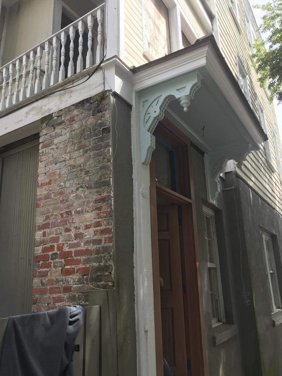 Exterior Renovation in Downtown Charleston, SC - After Photo