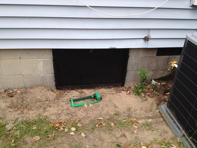Crawl Space Door in Mt Pleasant, SC - After Photo
