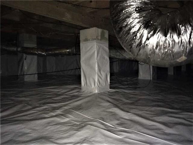 Vapor Barrier Installation in Orangeburg, South Carolina - After Photo