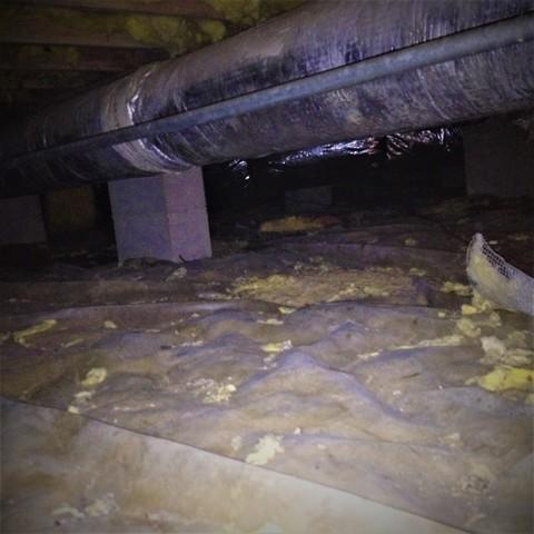 North Charleston Crawlspace Receives Encapsulation