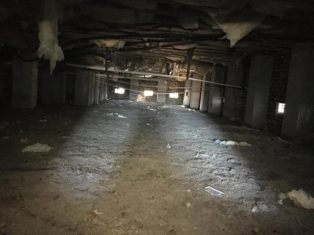 Moncks Corner Crawlspace Receives Vapor Barrier