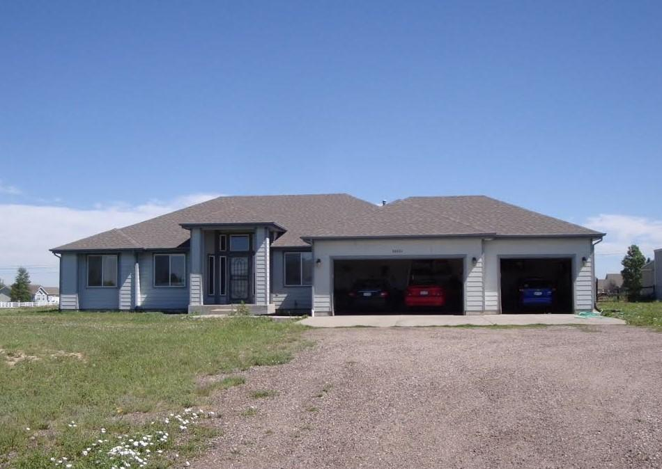 Strasburg, CO New Roof Installation - Before Photo