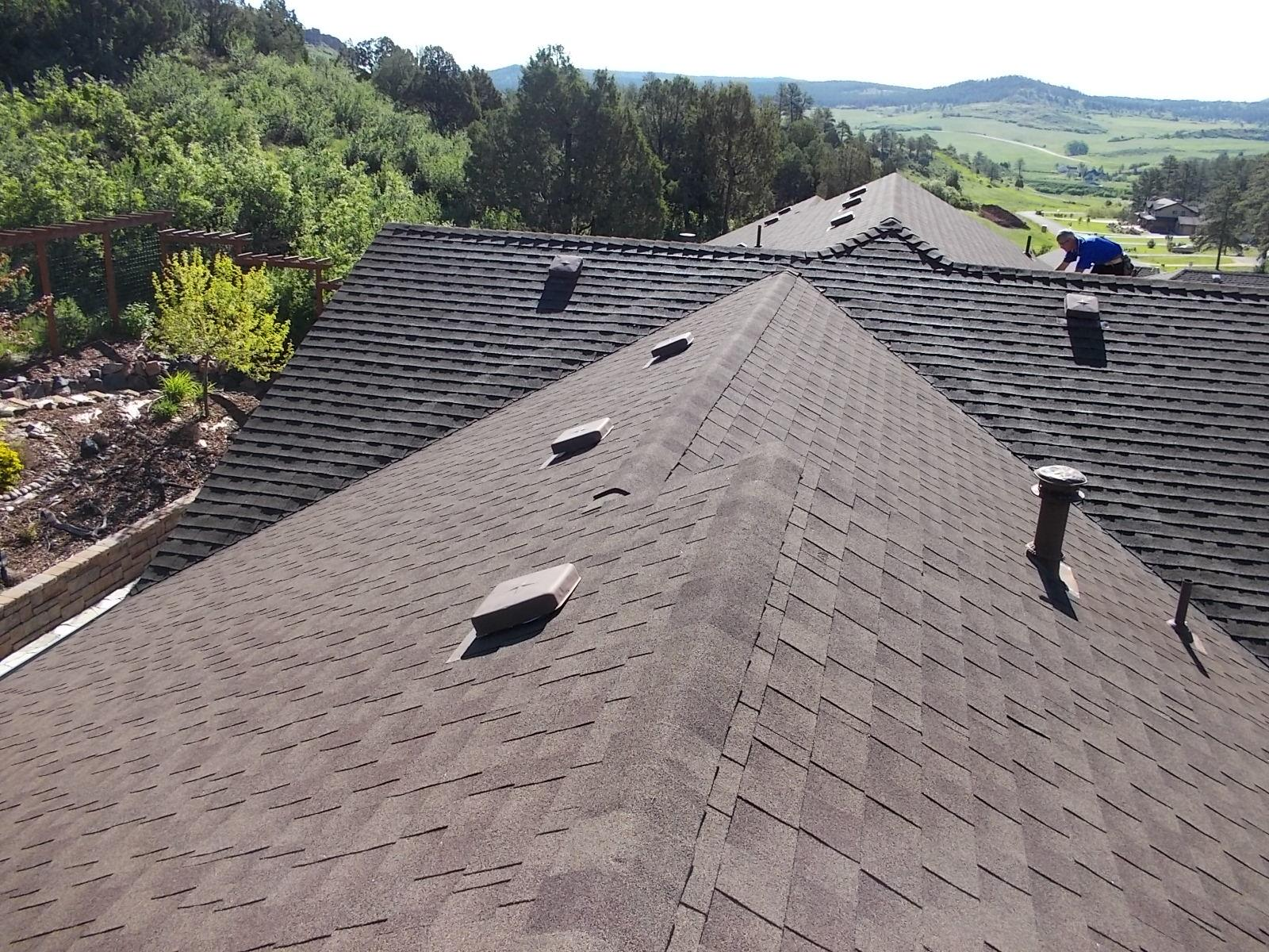 Larkspur, CO Roof Replacement - After Photo