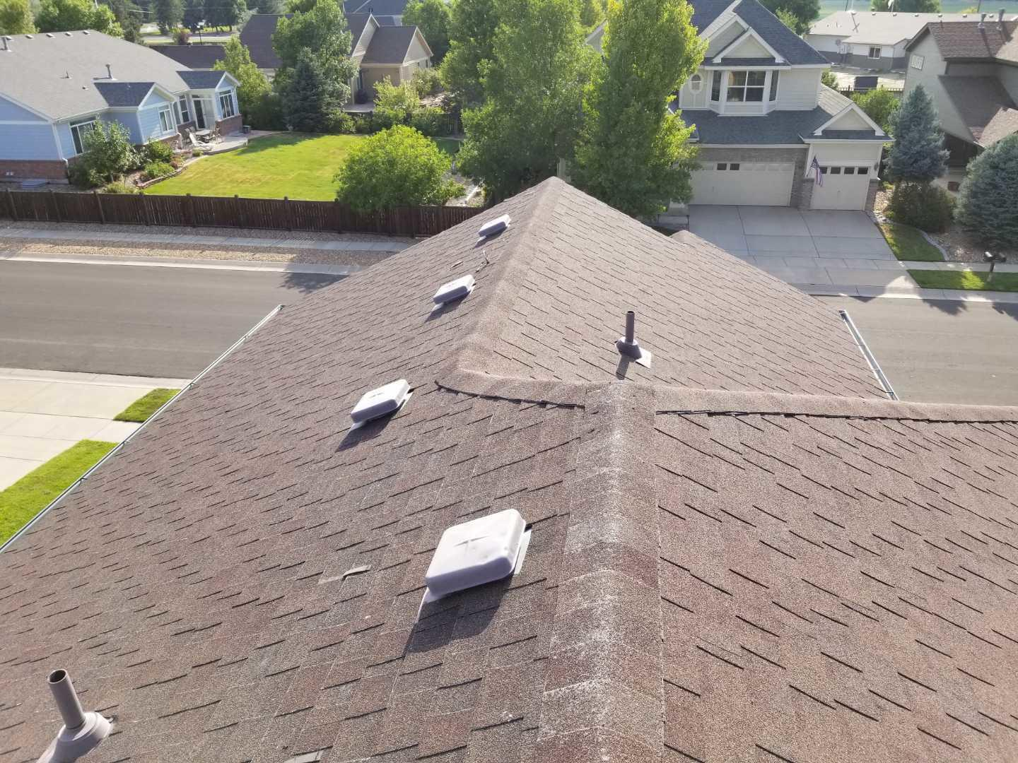 Impact Resistant Roof in Brighton, CO - Before Photo