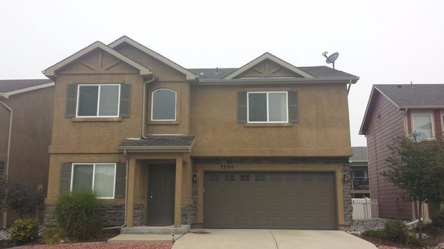 Colorado Springs Re-Roofing - Before Photo