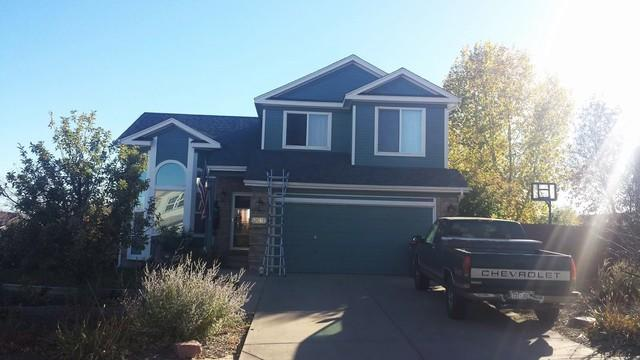 Colorado Springs Reshingling Job